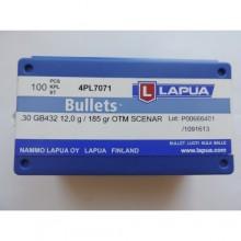Патрон LAPUA .308 Win GB432 12,0r/185 гр ОТМ Scenar